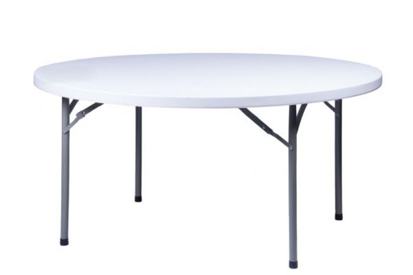 "60"" Round ""Heavy Duty"" Plastic Banquet Table"
