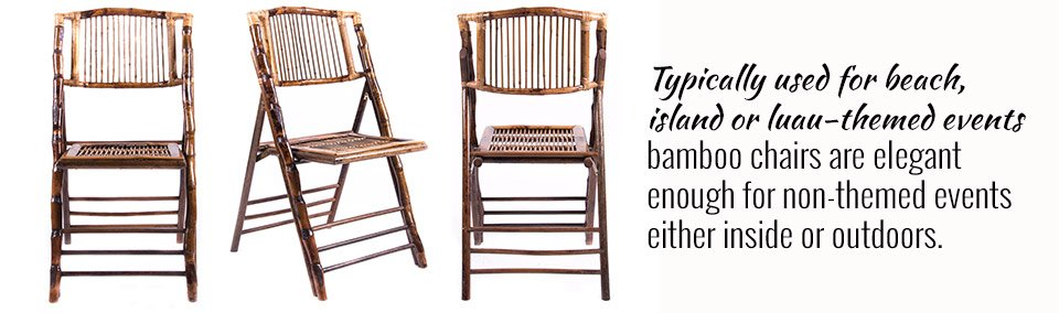 Bamboo Chairs Offer Eco-Friendliness
