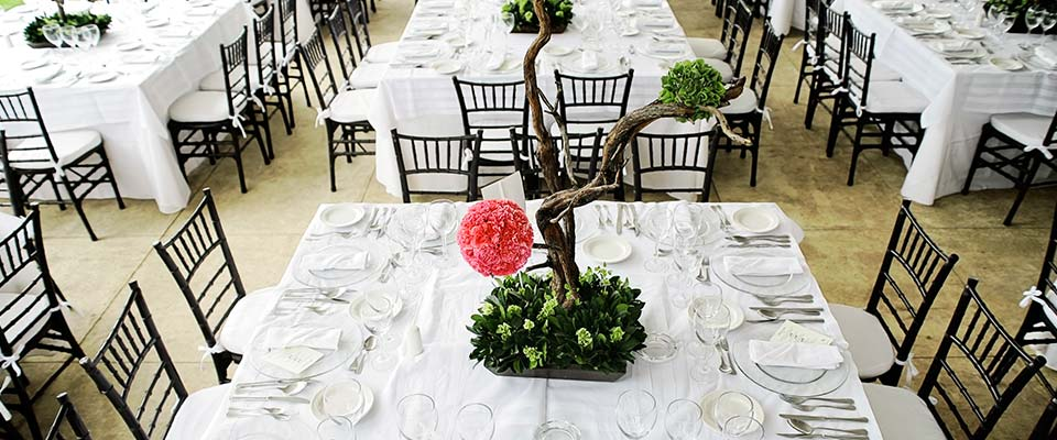Chiavari Chair Table Setting