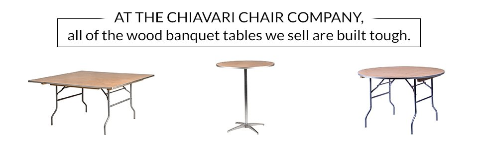 Buy A Banquet Table That Lasts