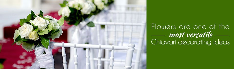 Four Stunning Chiavari Decorating Ideas