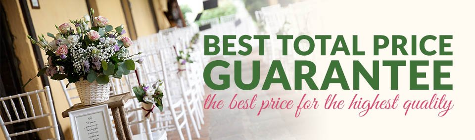 Quality Chiavari Chairs And Our Best Total Price Guarantee
