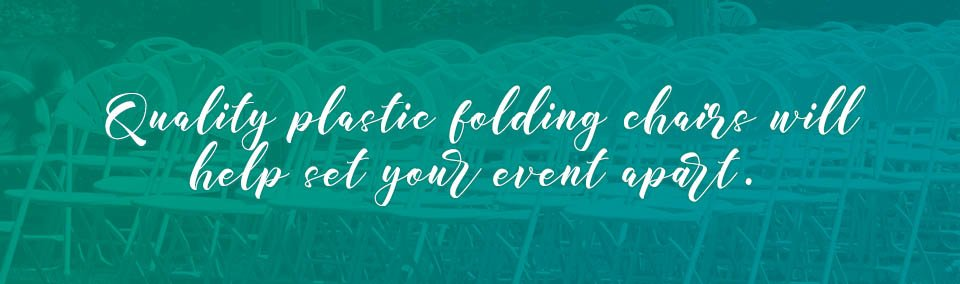 Learn what to look for in a plastic folding chair here!