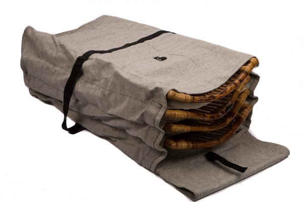 Carrying & Storage Bag for Bamboo Folding Chairs