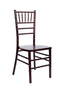 Mahogany Wood Stacking Chiavari Chair