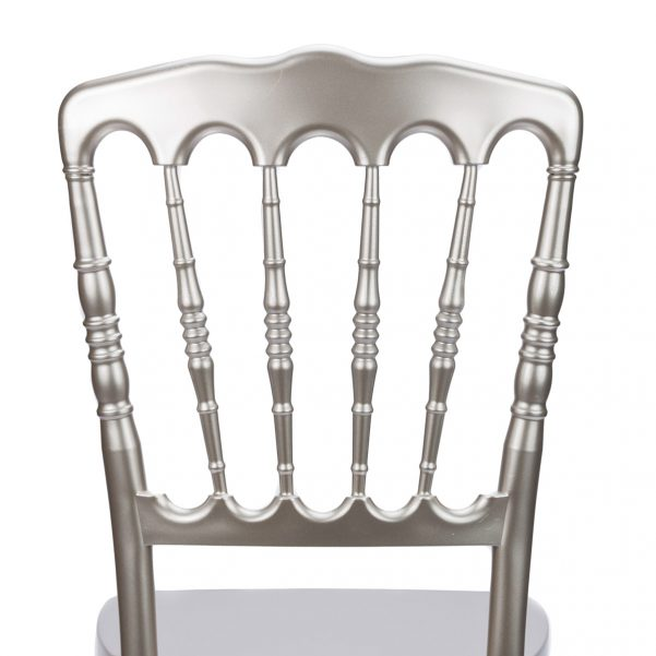 "Champagne Resin ""Inner Steel-Core"" Napoleon Chair"