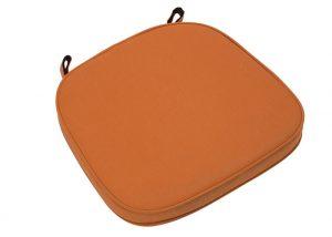 "Orange Extra Thick ""High Density"" Velcro Strap Chiavari Chair Cushion"