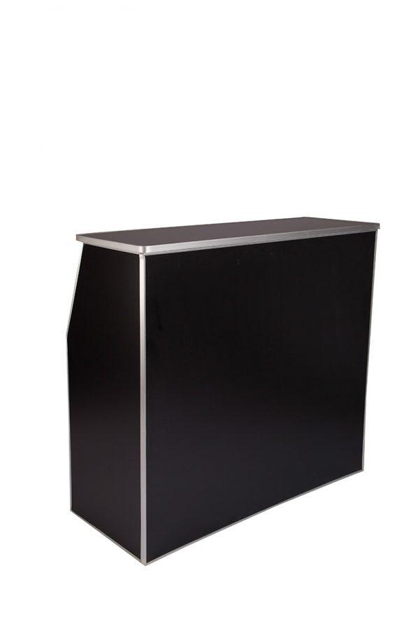 Black Portable, Foldable Bar