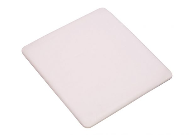 White Replacement Cushion for Wood Folding Chairs