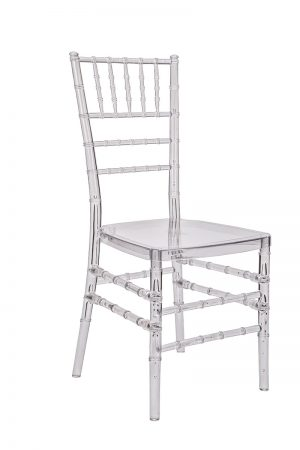 "Clear Resin ""Pro-Clear™"" Chiavari Chair"