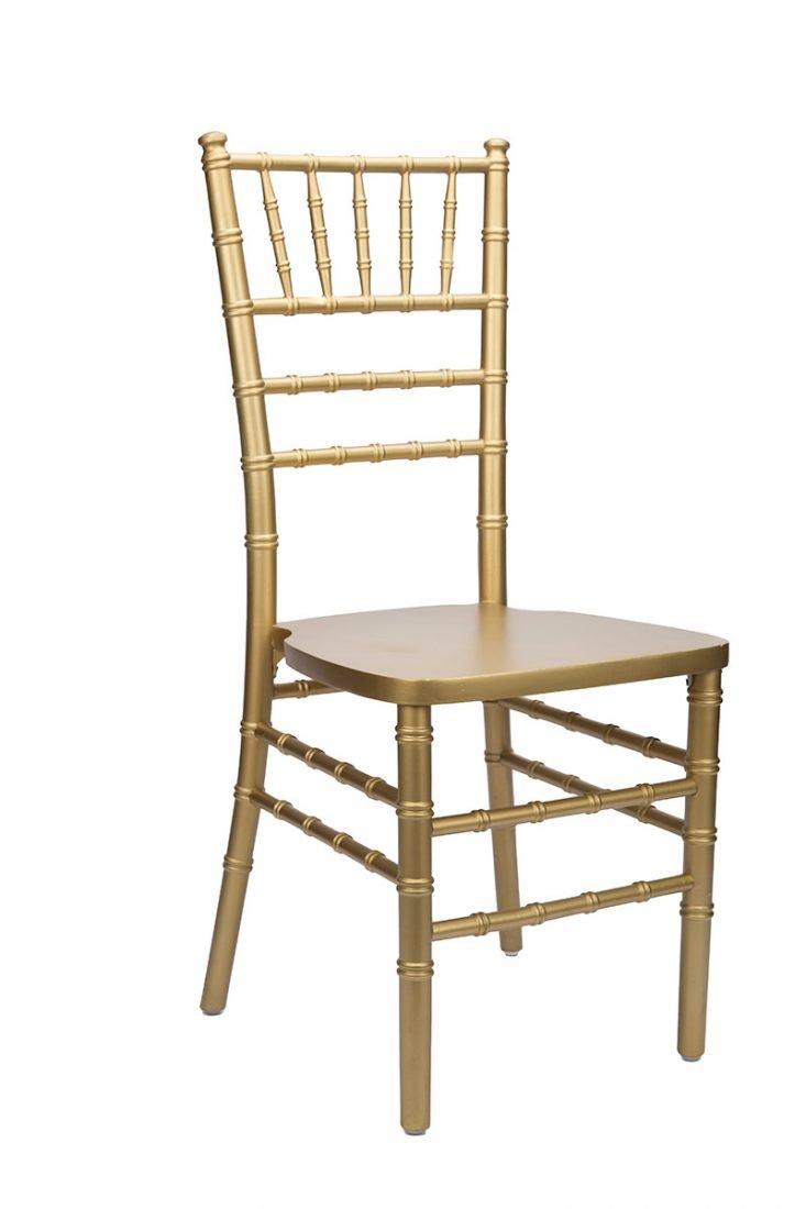 Gold Wood Stacking Ansi Standard Chiavari Chair