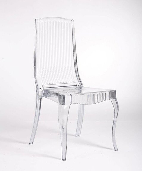 Clear Crystal Monarch Chair™ (CO)
