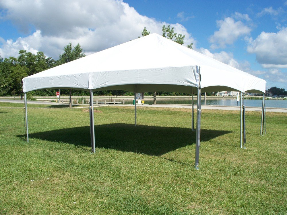20x20 Traditional Frame Tent Kit The Chiavari Chair Company