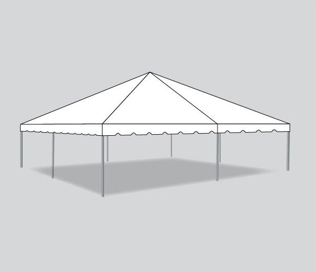 30x30 Traditional Frame Tent Kit - The Chiavari Chair Company