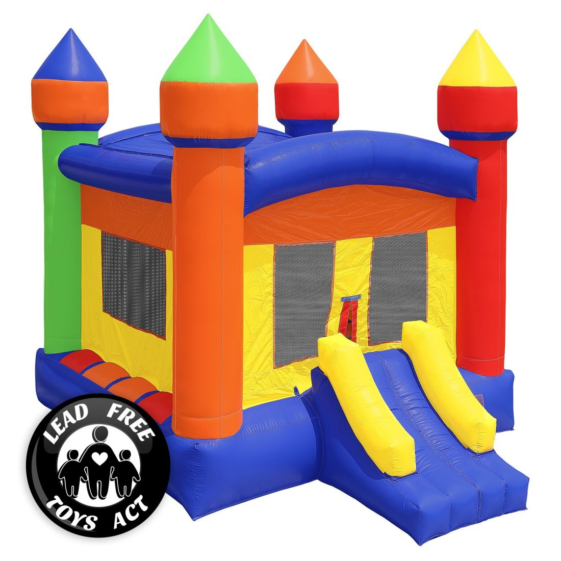 Commercial Grade Castle Bounce House With Blower The