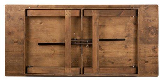 96 X 40 Rustic Pine Folding Farm Table