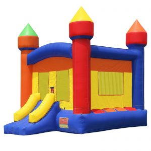 Commercial Grade Large Castle Bounce House with Blower 1