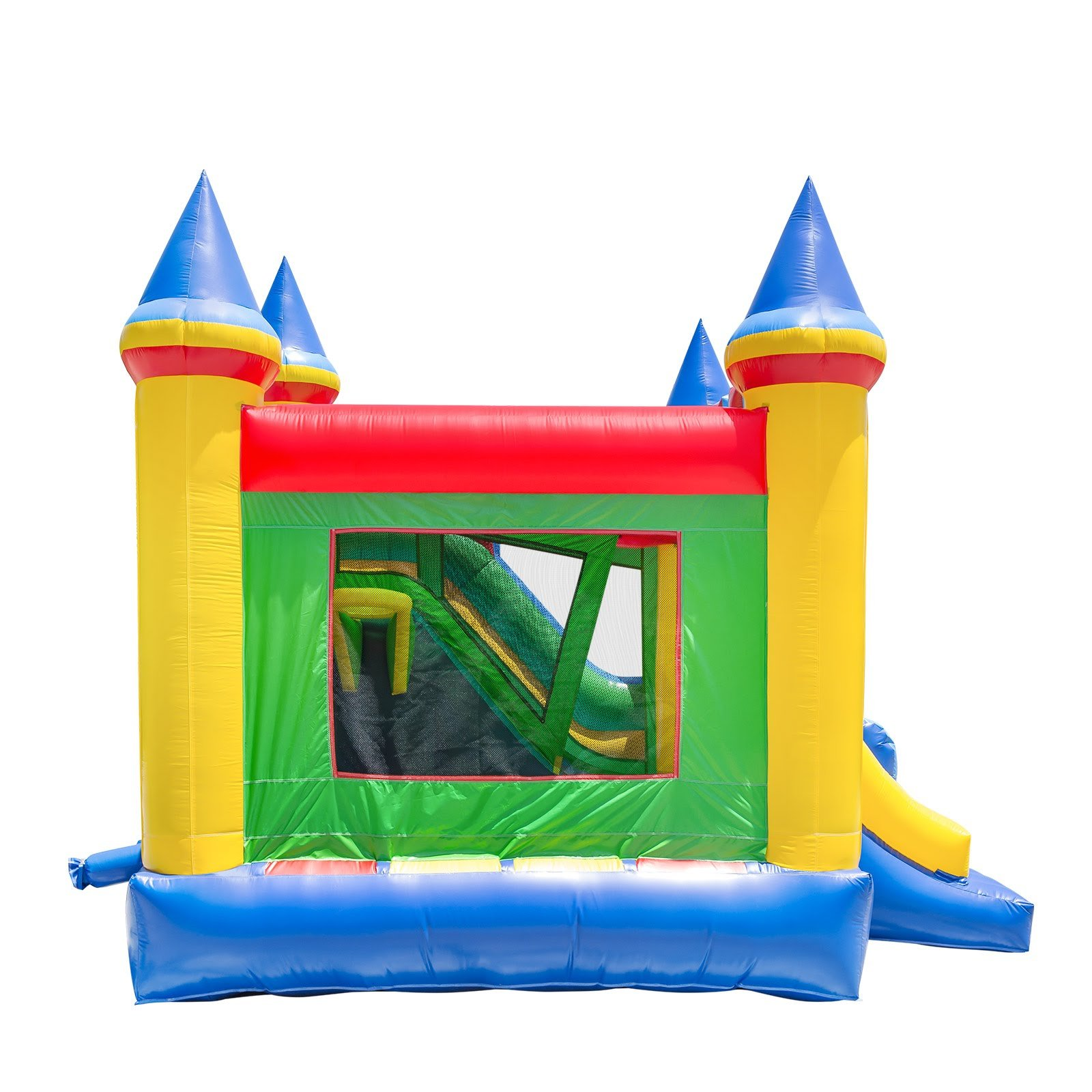 Commercial Grade Combo Castle King Jumper Slide with Blower