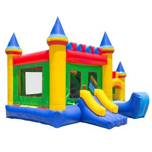 Commercial Grade Combo Castle King Jumper Slide with Blower 1