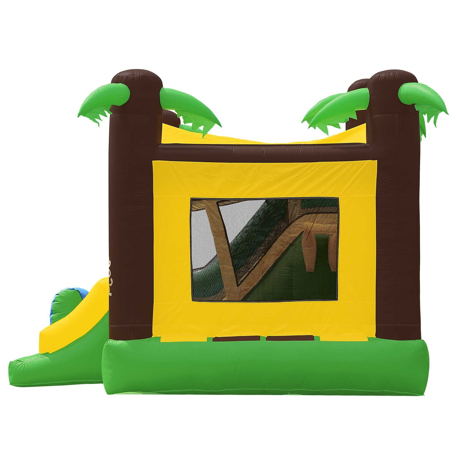 Commercial Grade Combo Jungle Bounce House with Blower