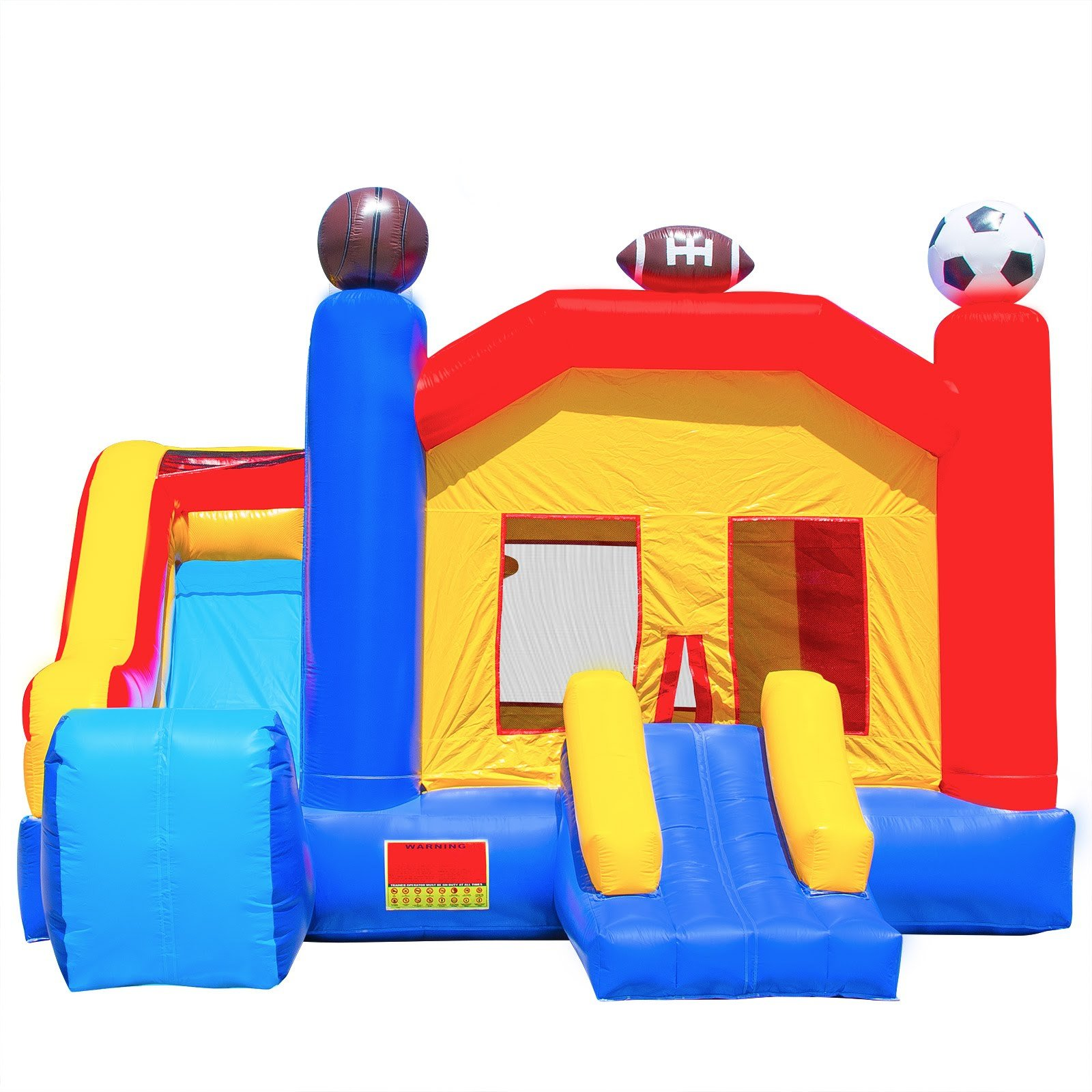 Commercial Grade Combo Sports Bounce House with Blower