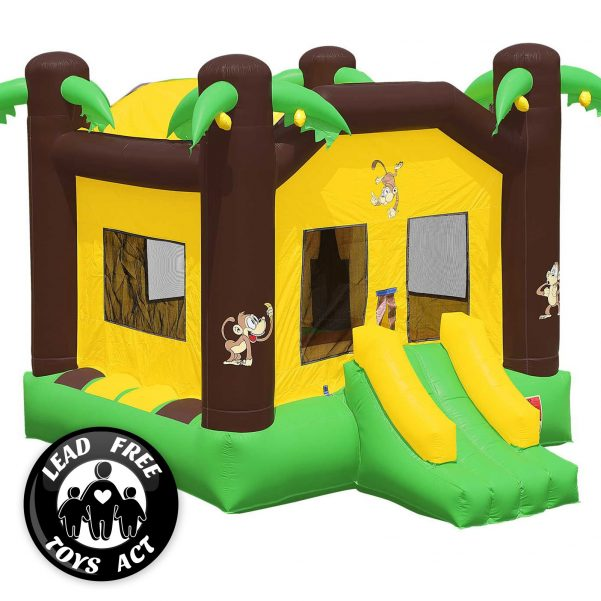 Commercial Grade Jungle Bounce House with Blower 7
