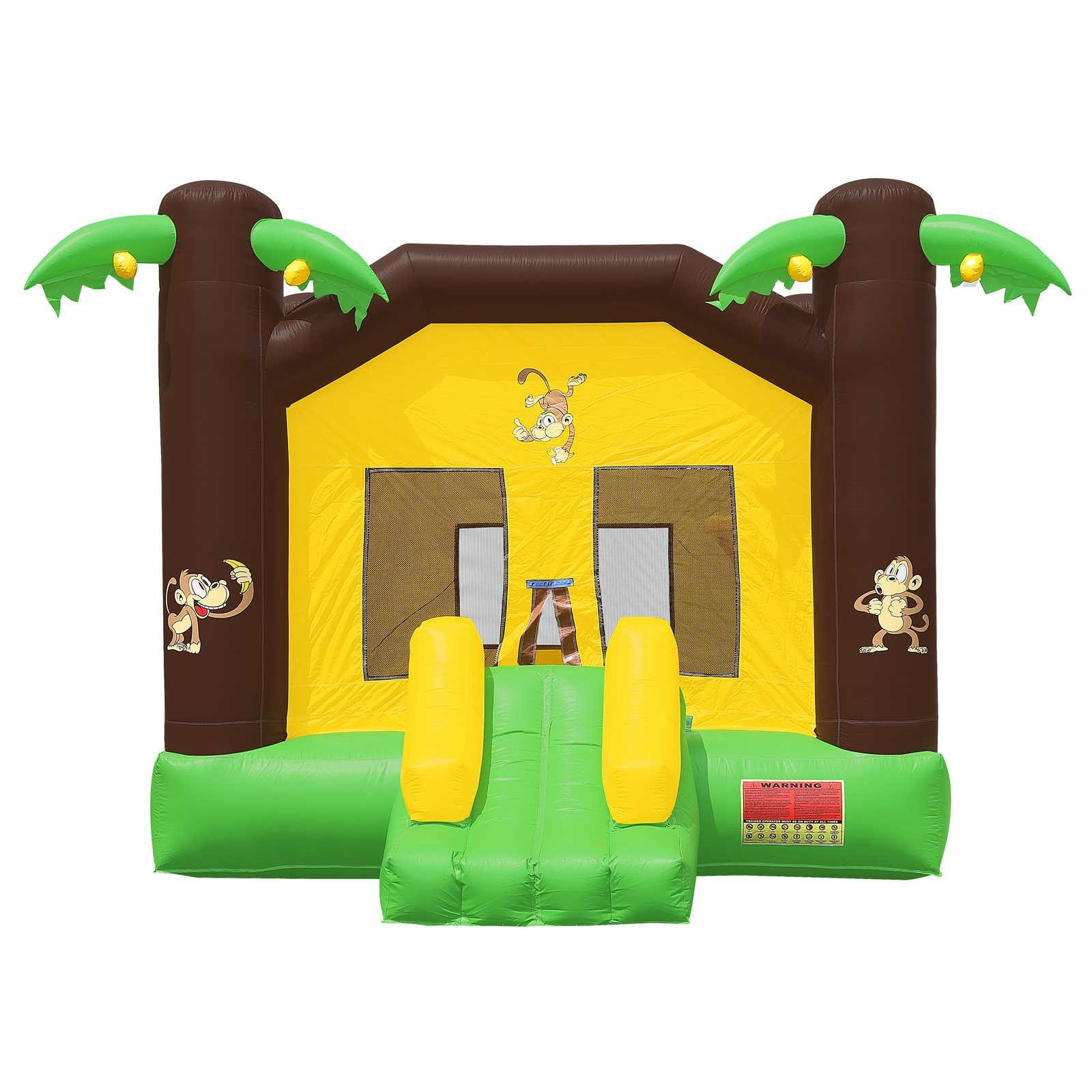 Commercial Grade Jungle Bounce House with Blower