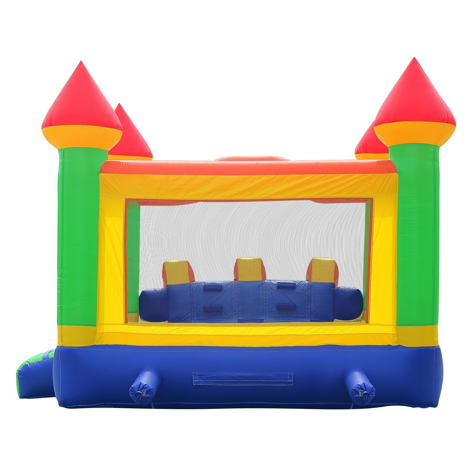 Commercial Grade Mega Slide Bounce House with Blower