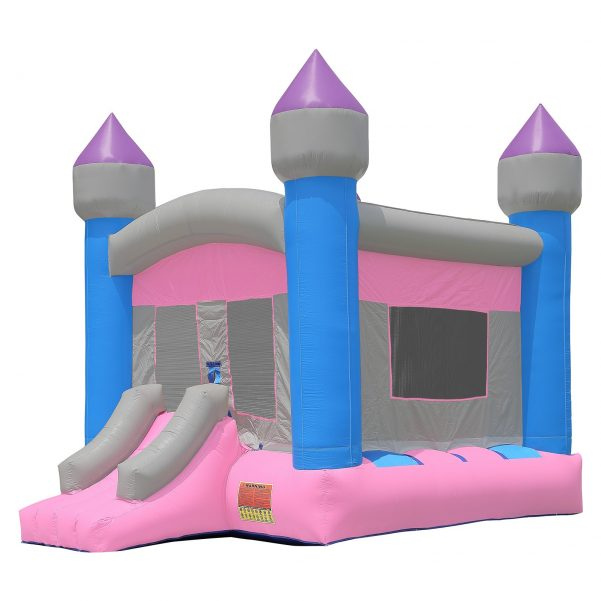 Commercial Grade Princess Bounce House with Blower 1