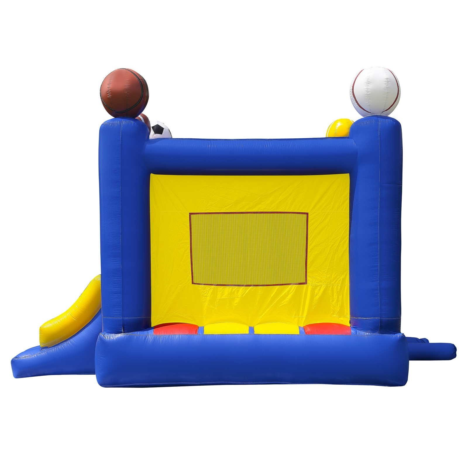 Commercial Grade Sports Bounce House with Blower