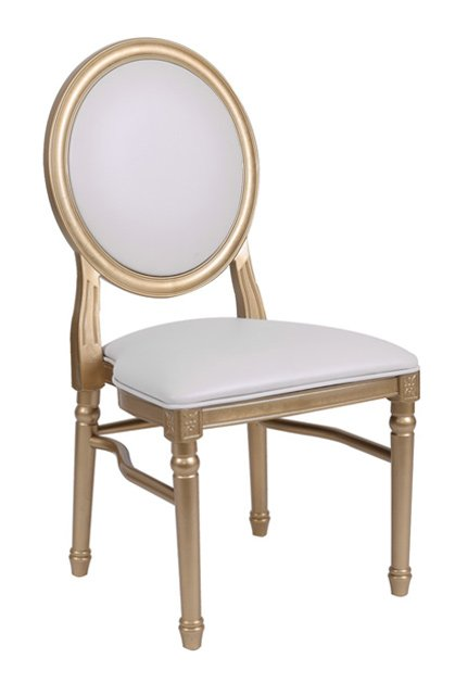 gold resin louis pop chair