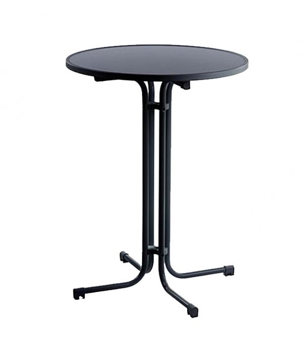 Round Cocktail Table - Black