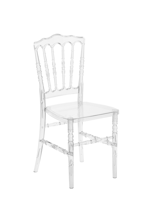 "Clear Resin ""Pro-Clear"" Napoleon Chair"