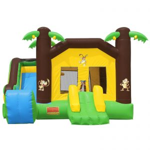 Commercial Grade Combo Jungle Bounce House with Blower 1