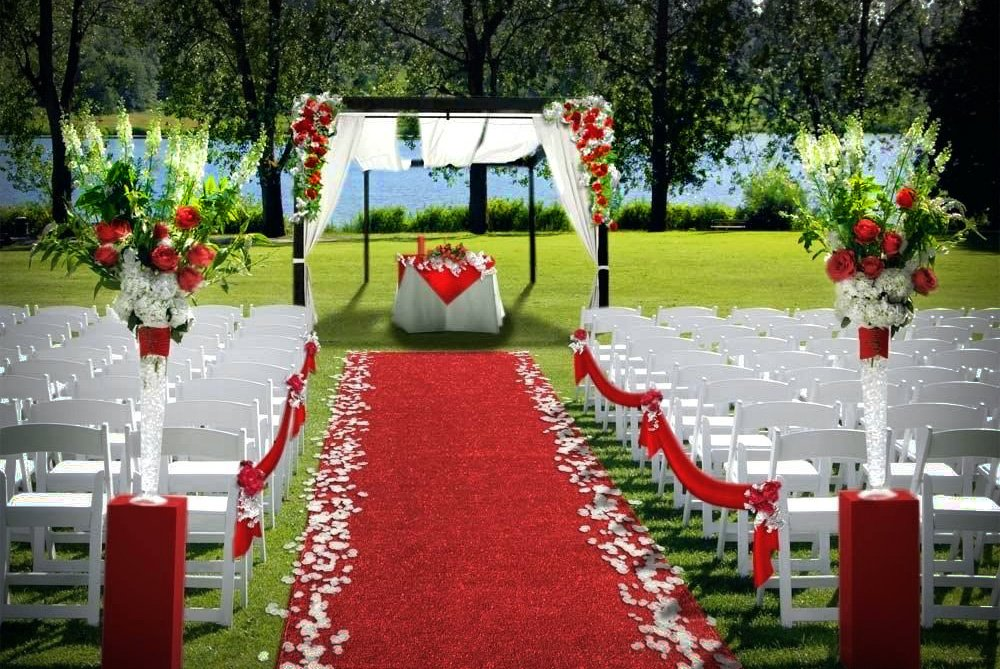 Red Carpet Runner Indoor Outdoor 3 X 25 The Chiavari Chair Company