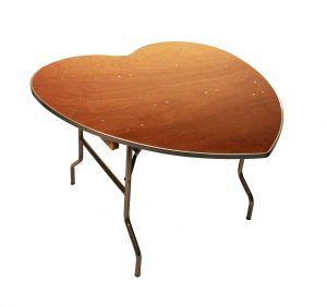 heartshaped table 2