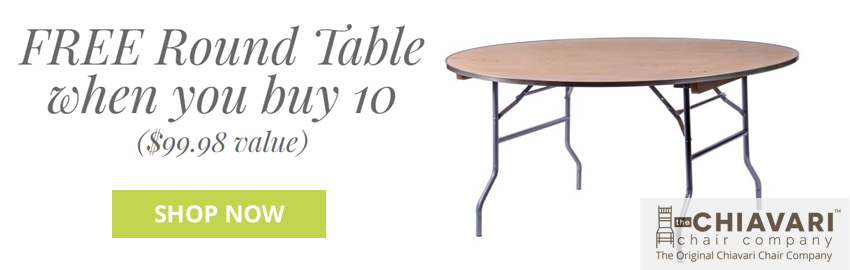Free Round Table when you buy 10