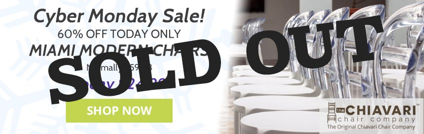 clear chair cyber monday banner soldout