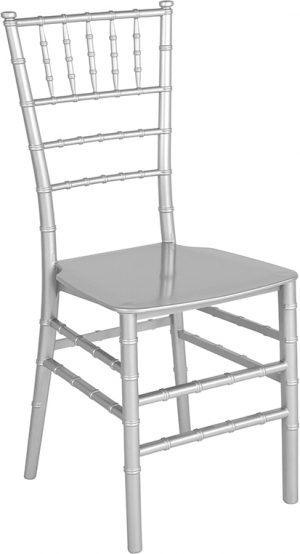 Silver Glitter Resin Chiavari Chair