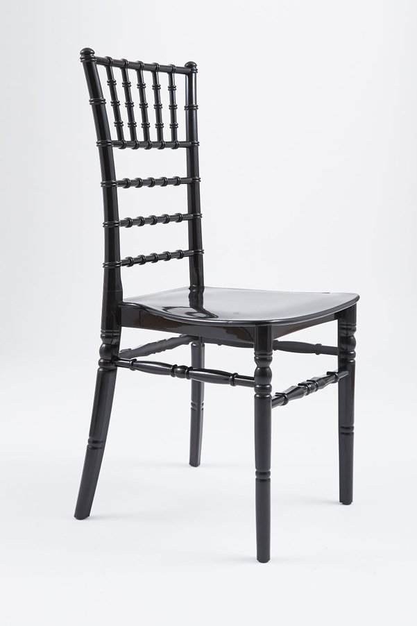 chair chiavari resin black mono bloc 1