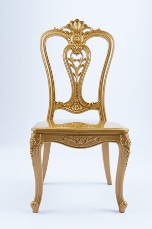 gold royal chair
