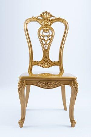 gold royal chair