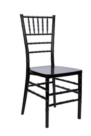 chair chiavari proresin black