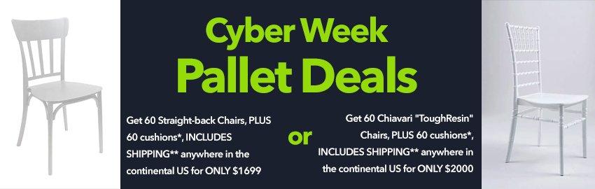 cyberweek pallet deals