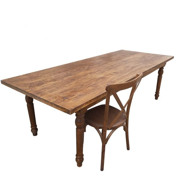 straightleg wood table a