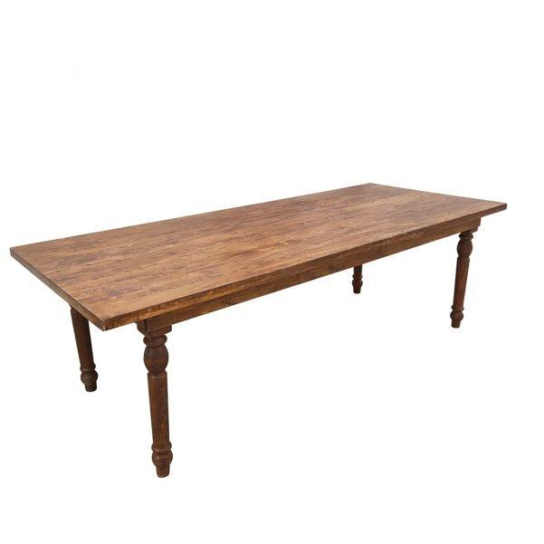 straightleg wood table b