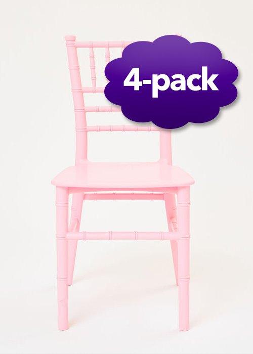childrenschair pinkresin